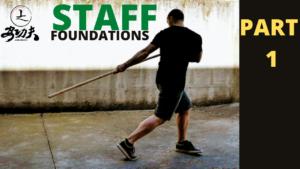Esercizio base con bastone nel Kung Fu